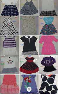 Dresses from 4-12yrs old