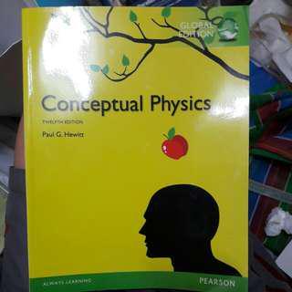 內頁近全新 / conceptual physics 12th edition 觀念物理