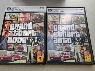Original GTA IV BOXSET for the PC