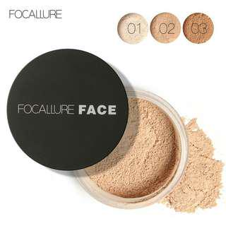 🔥FOCALLURE 3 Colors Loose Setting Powder