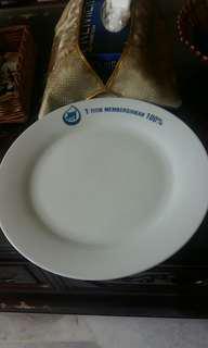 1 Pc Joy White Plate