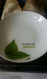 1 Pc Goodmaid White Plate