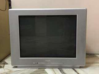 "Abandoned Philips 27"" monitor TV"