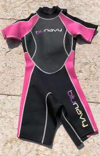 Short wetsuit-women S size