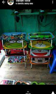 Meja belajar anak karakter