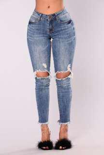 Lesley Jeans (Fashion Nova) Size 7