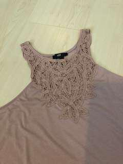 H&M Nude Pink Top