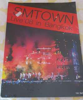 SM Town concert in Bangkok 2008 photobook