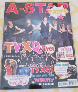 TVXQ Mirotic concert in Bangkok 2009 magazine