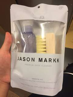 Jordan marks shoe cleaner