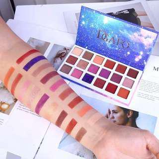 (NEW IMPORT!!) Eyeshadow 18 warna merek color castle