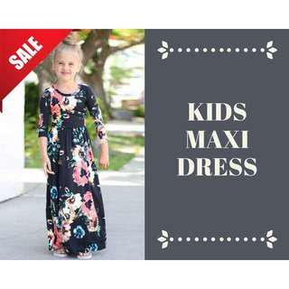 <SALE> KIDS MAXI DRESS