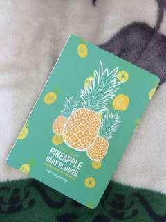 Pineapple Daily Planner