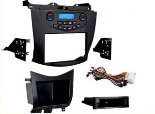 Accord cl7 double din panel with ac control