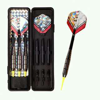18g Electronic Soft Tip Darts Shiny Neon (3 pieces / set)