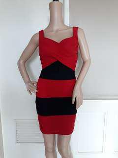 Sexy Bandage red dress