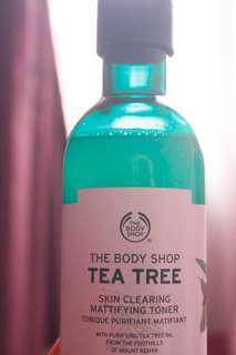 The Body Shop Tea Tree Skin Clearing Mattifying Toner 250ml