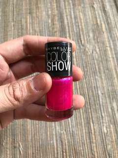 Nail lacquer kutek maybeline color show