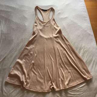 全新forever 21粉色洋裝