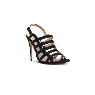 Sepatu High Heels DE VELVET Navy Black PInk Beige Authentic BRANDED Import  Wanita Cewek Cantik OBRAL c474eb9c3e