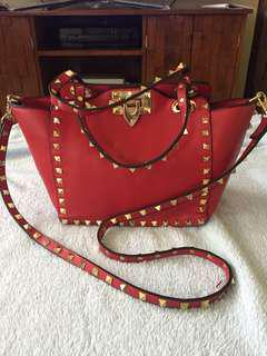 Valentino Inspired 2 way bag