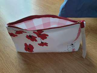 Clarins cosmetic bag