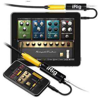 🚚 iRig Guitar Interface for iPhone/iPad free shipping