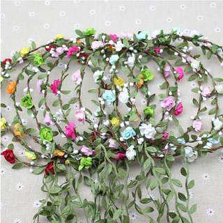 🚚 Garlands Hair band #  Flower anadem , wreath, floral corolla, Hydrangea Bouquet