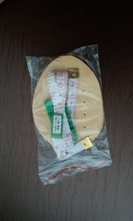 Shoe Pad with measuring tape