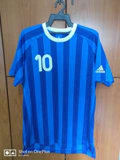 🚚 Authentic Adidas Classic Stripes Jersey (Blue)