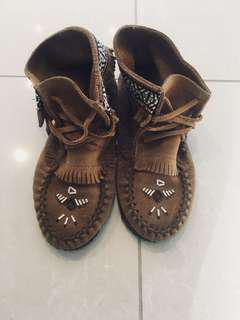 MINT Condition Tribal Shoes