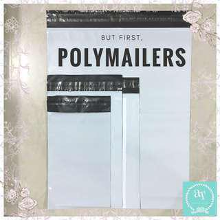 {Bulk Pricing} White Polymailers