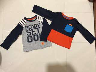 Baby Boy TOP Long sleeves