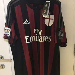 絕版波衫球衣A 絕版波衫球衣AC Milan 72 Prince Jersey With C Milan 72 Prince Jersey With Autography