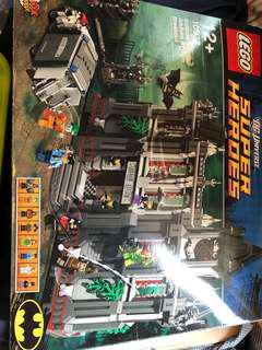 己砌 10937 Lego Batman DC super hero Arkham Asylum