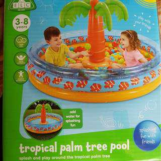 Early Learning Centre ELC Tropical Palm Tree Island Pool