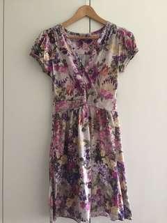 E-vie Floral Printed Dress
