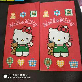 hello kitty 纸袋
