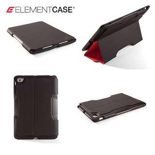 Element Soft-Tec Pro Case for iPad mini 1,2, 3 - Black-Red