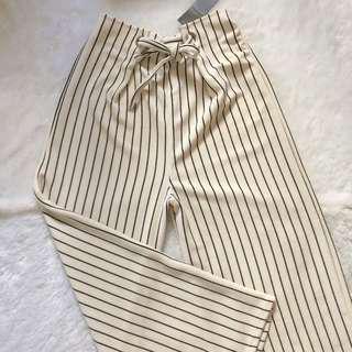 [turun harga] Stripe Kulot
