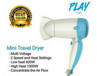 Hair dryer mini travel