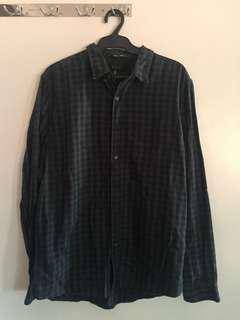 Forever21 Men's Plaid Shirt