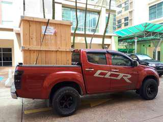Transport service movers 4x4 lorry