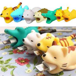 🌸 Cute animal Cable protector