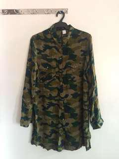 H&M Camo Long Sleeves