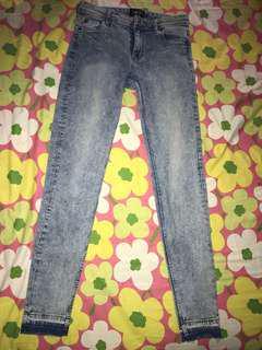 Jeans skiny crop factorie