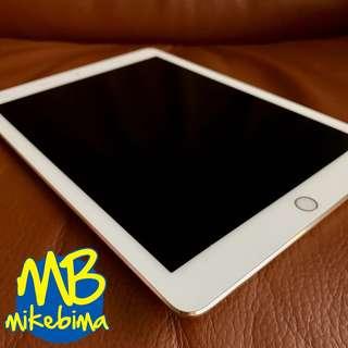 iPad Air 2 Gold Wifi Only 16GB, mulus & sehat & Original ex iBox