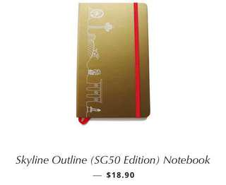 LoveSG Notebook with FREE Travel Notebook