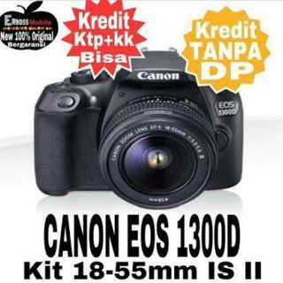 Kredit Tanpa Dp Proses 3 Menit Camera Canon 1300D Gratis 1kali cicilan