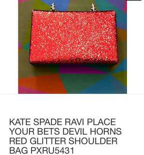 Bnew limited EDiTion kate spade bag